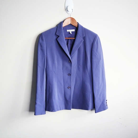 Anne Klein purple blazer
